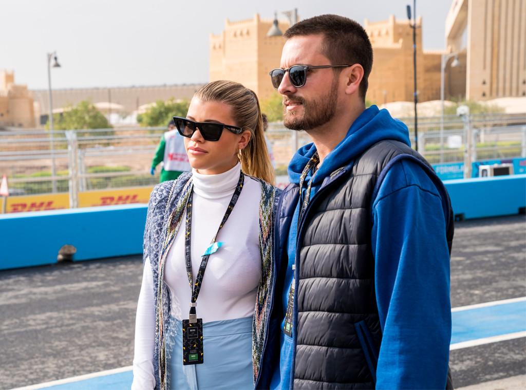 Scott Disick, Sofia Richie, Formula E
