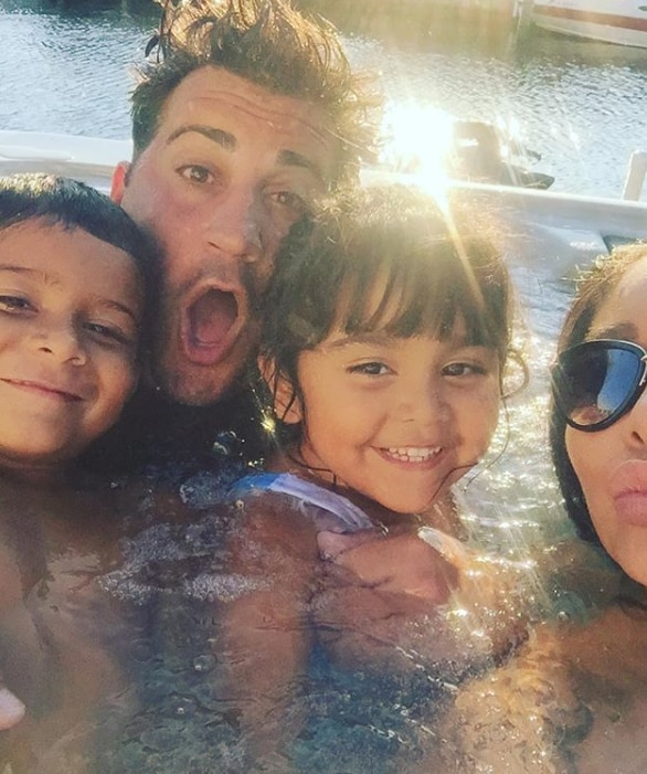 Pool day -  The LaValle family enjoyed some fun in the sun.
