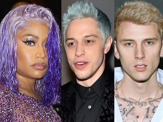 "Machine Gun Kelly, Nicki Minaj and Others Offer Support for Pete Davidson: ""Your Life Matters"""