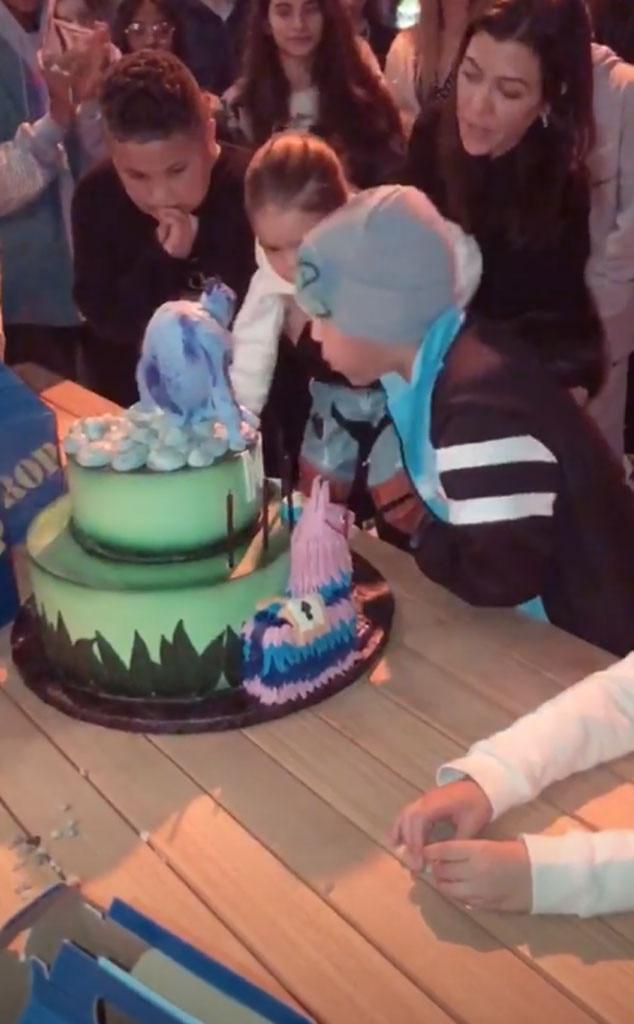 Mason Disick, Birthday Party