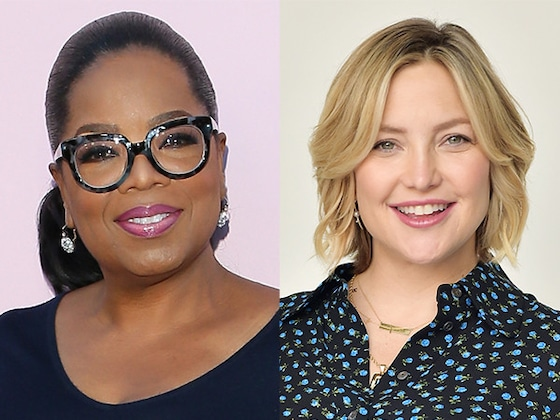 Oprah Winfrey Welcomes Kate Hudson to Weight Watchers With the Cutest FaceTime Call