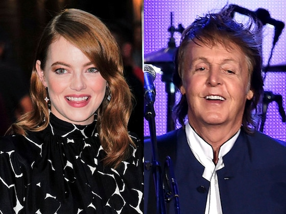 """Emma Stone Channels Her Silly Side for Paul McCartney's """"Who Cares"""" Music Video"""