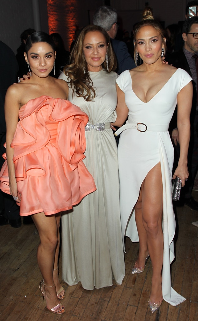 Vanessa Hudgens, Leah Remini and Jennifer Lopez