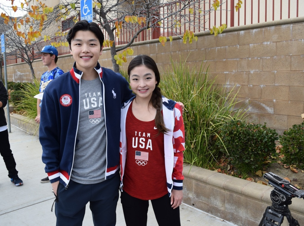 Maia & Alex Shibutani - The Team USA Olympians surprise students of Yerba Buena Elementary and Agoura High School in Southern California to spread holiday cheer and give back to the local community affected by wildfires.
