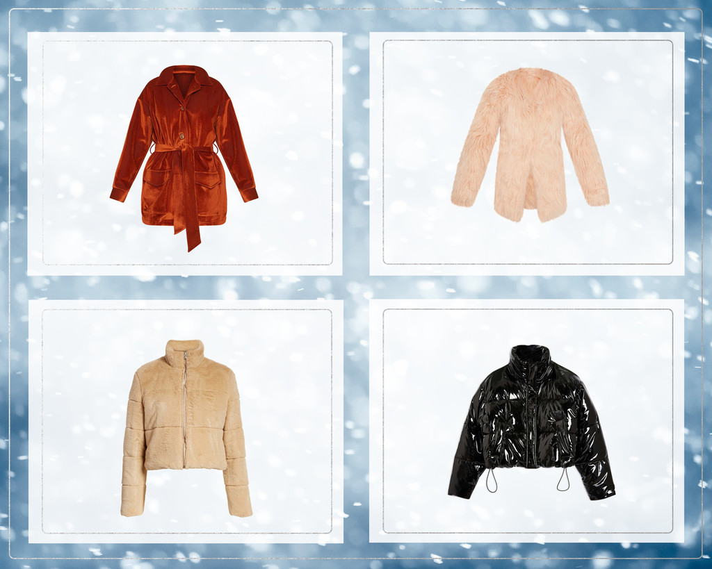 E-comm: Coats To Complete Your Party Look