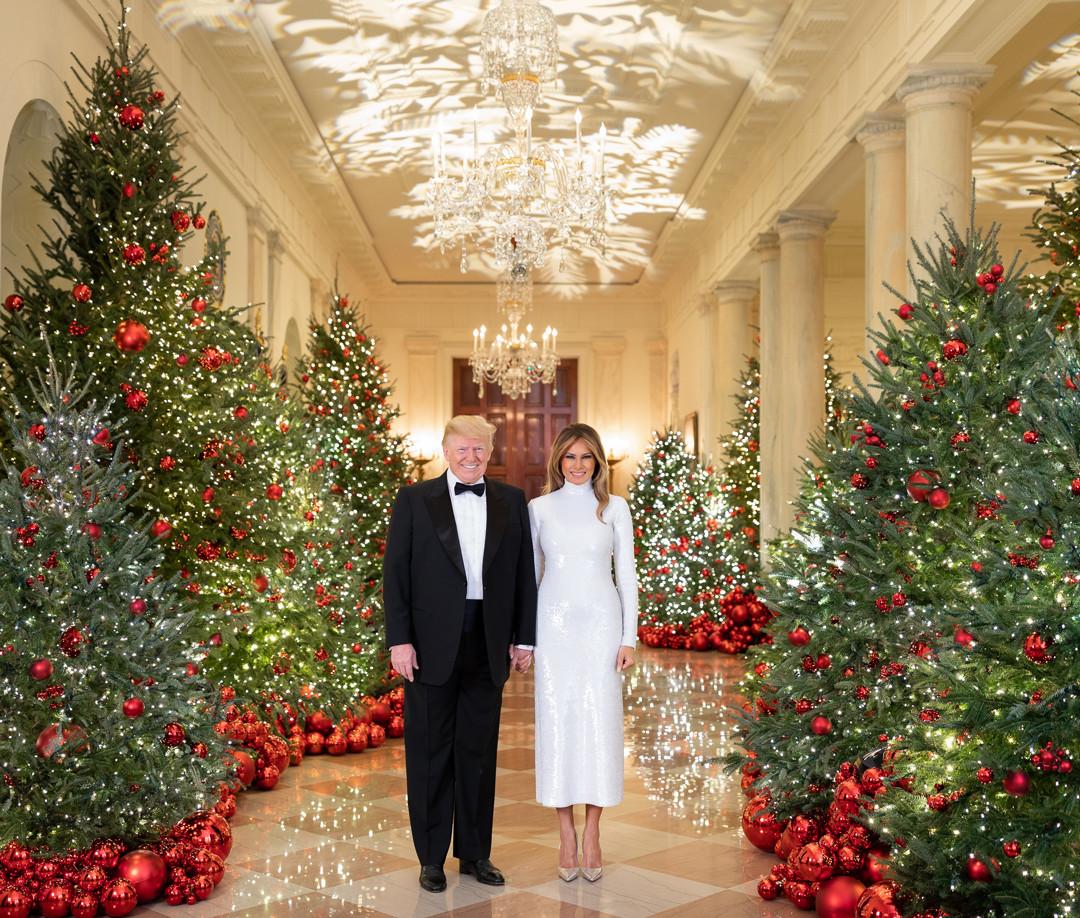 Donald Trump, Melania Trump, Christmas