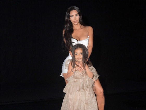 North West Looks Like Kim Kardashian's Twin in New Photo With Chicago West