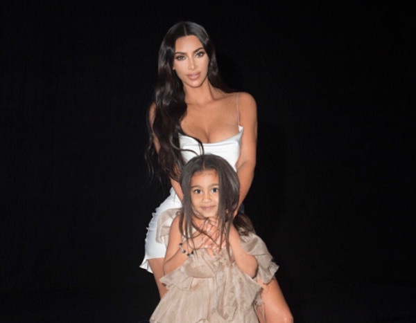 North West Is a Supermodel in the Making While Wearing Kim Kardashian's Heels on Kardashians