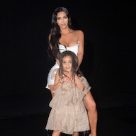 North West Is a Supermodel While Posing in Kim Kardashian's Heels - E! NEWS