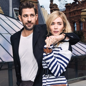 Emily Blunt, John Krasinski, The Hollywood Reporter, cover, December 2018