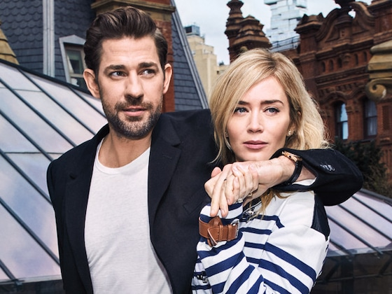 Emily Blunt and John Krasinski Can't Agree Over Who Made the First Move