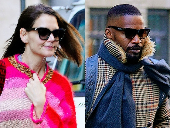 Katie Holmes and Jamie Foxx Enjoy Sweet Treats Together During Birthday Outing