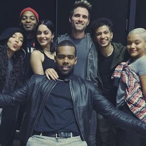 Tinashe, Brandon Victor Dixon, Vanessa Hudgens, Mario, Brennin Hunt, Jordan Fisher, Kiersey Clemons