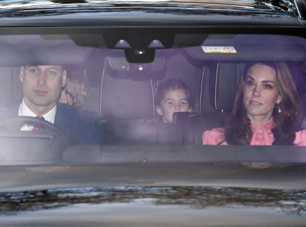 Prince William, Kate Middleton, Princess Charlotte, Royal Christmas Lunch