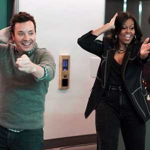 Michelle Obama, Jimmy Fallon