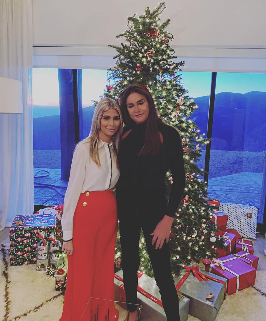 Sophia Hutchins, Caitlyn Jenner, 2018 Christmas