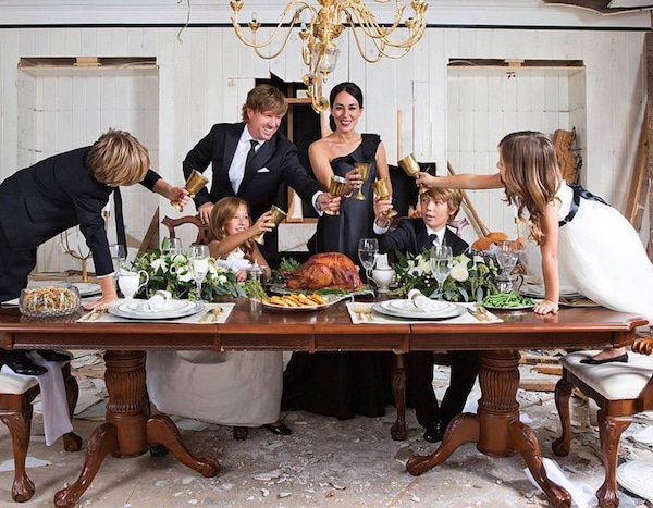 thankful from chip joanna gaines 39 sweetest family snaps e news. Black Bedroom Furniture Sets. Home Design Ideas