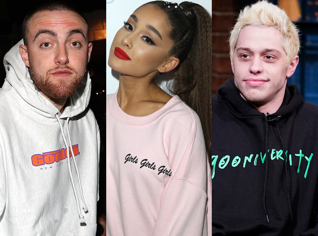 6850811f3 Ariana Grande Covers Up Pete Davidson Tattoo With a Tribute to Mac Miller