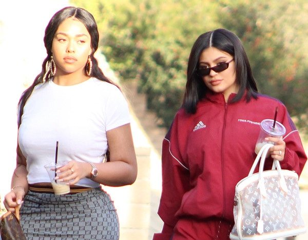 Kylie Jenner Makes Second Post Pregnancy Outing For Friend