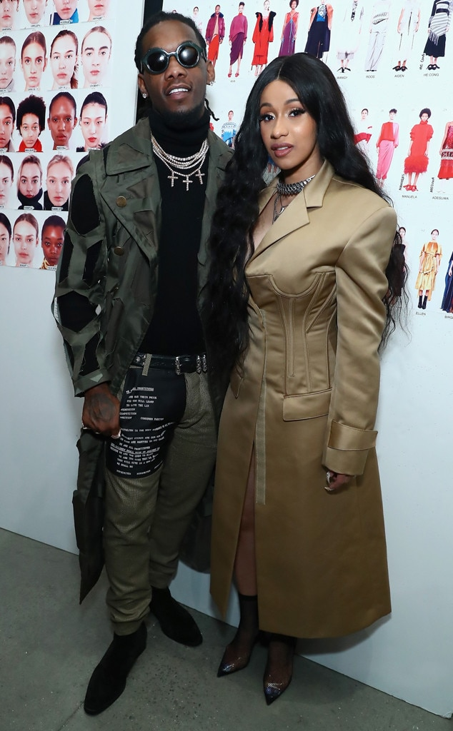 Offset & Cardi B From The Big Picture: Today's Hot Photos