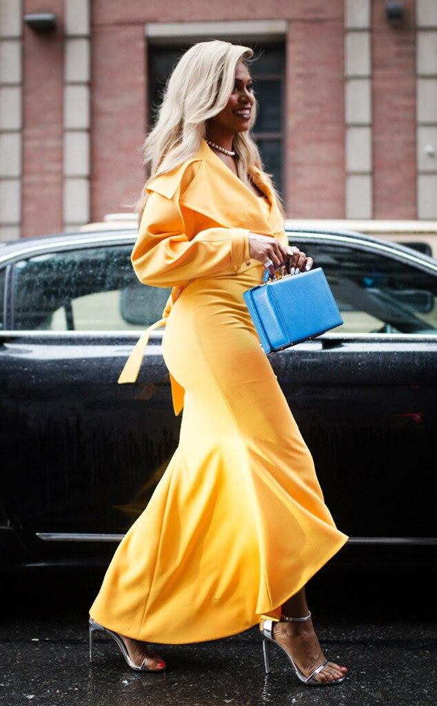 ESC: NYFW Street Style, Laverne Cox