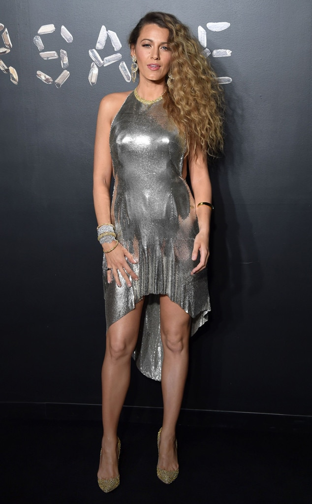 Blake Lively, Versace Show
