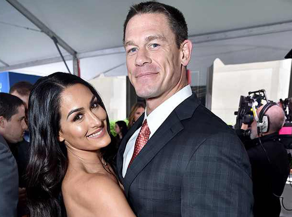 Nikki Bella & John Cena -  Fans rooted for these two in and out of the ring for six years, but though they still have a lot of love for eachother, they ultimately just didn't want the same things.   TheWWE stars kicked off 2018 together with an  engagement party  despite  ominous teasers  for the third season of Total Bellas  indicating that they weren't on the same page as far as planning a future together.