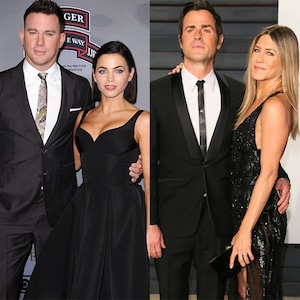 Channing Tatum, Jenna Dewa, Justin Theroux, Jennifer Aniston
