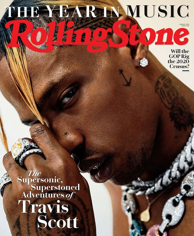 Travis Scott Covers Rolling Stone: Talks Kylie Jenner, Stormi, & Kanye West