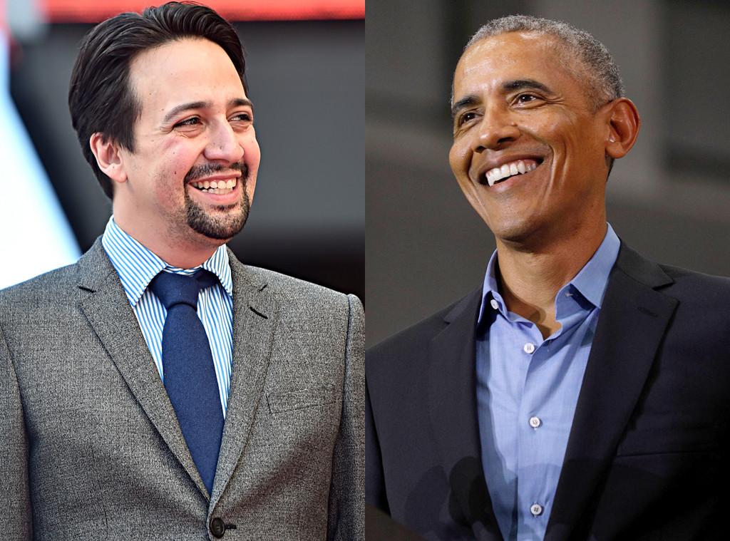 Lin-Manuel Miranda, Barack Obama
