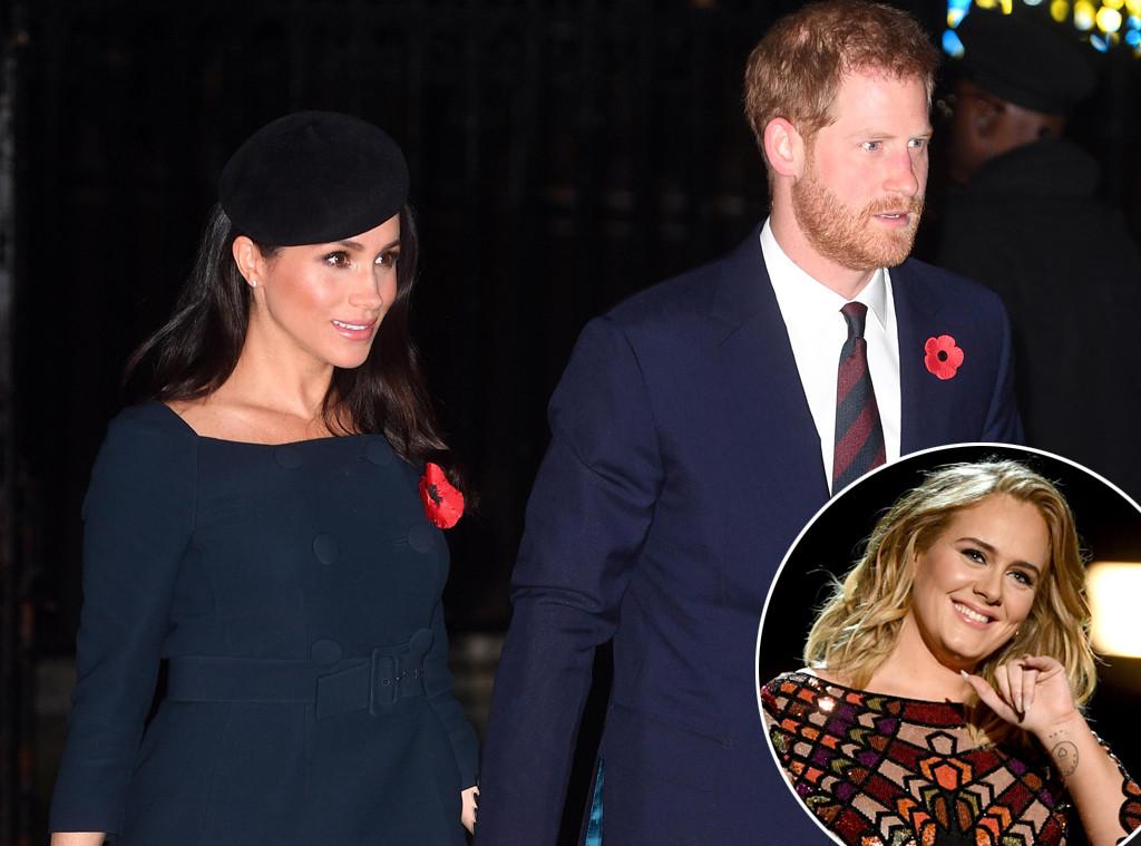 Meghan Markle,Prince Harry, Adele