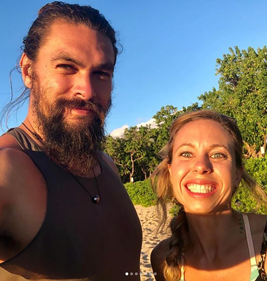 Jason Momoa Haka: Aquaman Jason Momoa Emerges From The Sea To Crash Couple's