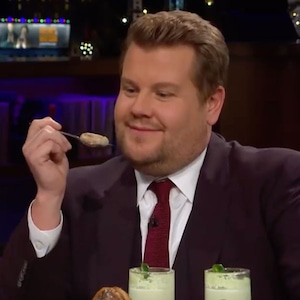 James Corden, Turkey Testicle