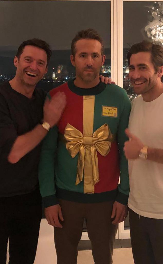Jake Gyllenhaal, Ryan Reynolds, Hugh Jackman