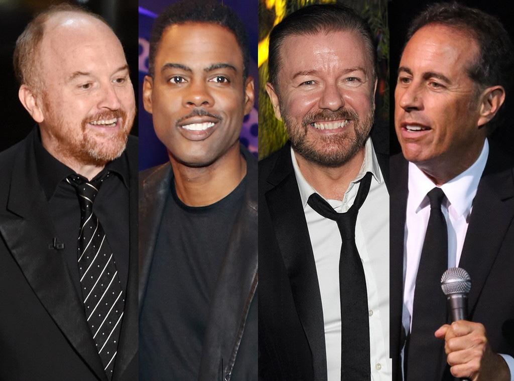 Louis CK, Chris Rock, Jerry Seinfeld, Ricky Gervais