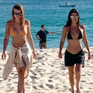 Kourtney Kardashian Vacations With Sofia Richie and Scott Disick