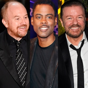 Louis CK, Chris Rock, Jerry Seinfeld, Ricky Gervais