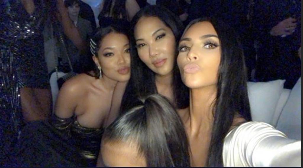 Kim Kardashian, Kardashian-Jenner Christmas 2018, Party