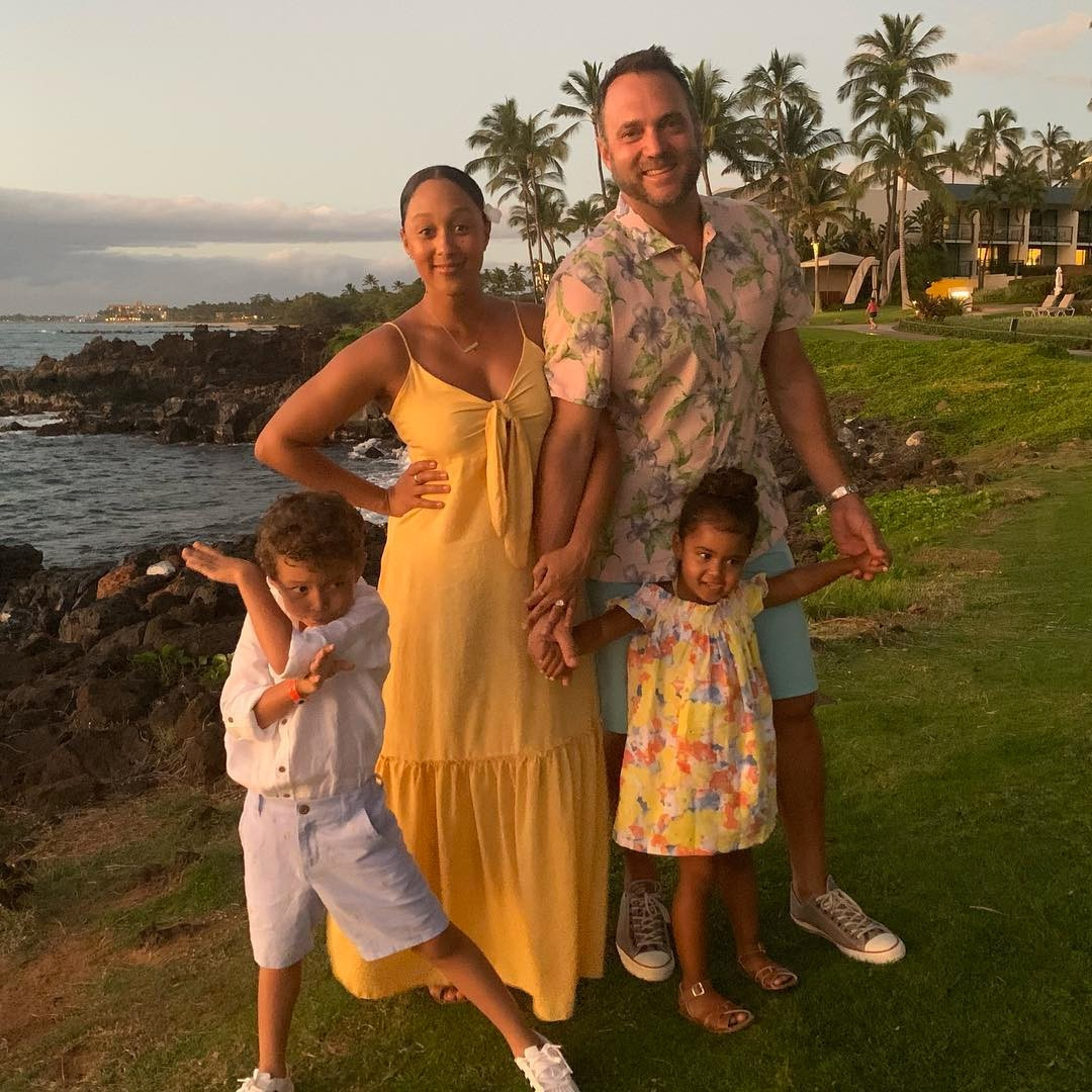 Tamera Mowry-Housley -  The actress appears with husband Adam Housley  and kids Aden  and Ariah  during a Christmas 2018 vacation to Hawaii.