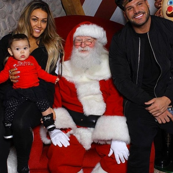 Ronnie Ortiz-Magro, Jen Harley, Daughter, Ariana, Christmas 2018