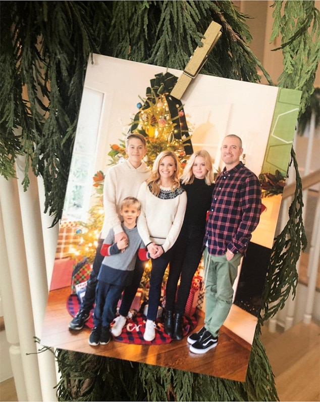 Reese Witherspoon, Family, Christmas