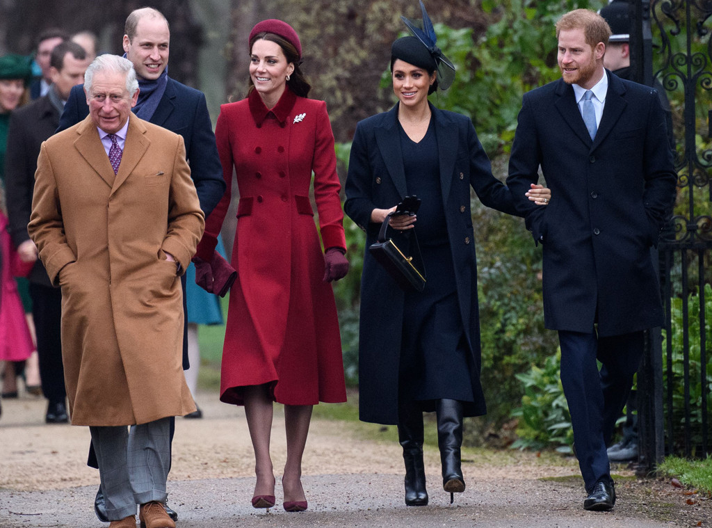 Rugby Prince Charles, Prince William, Meghan Markle, Kate Middleton, Prince Harry, Royals