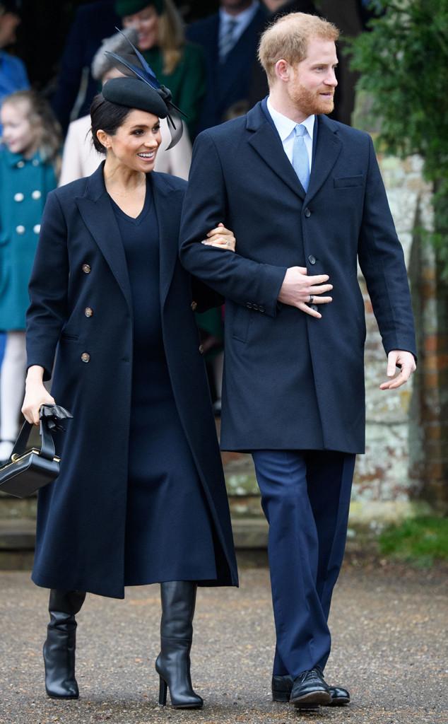 Meghan Markle, Prince Harry, Christmas, Royal Baby