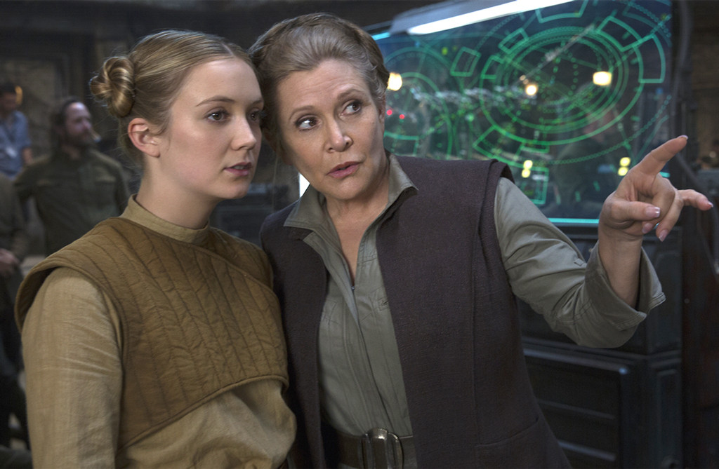 Carrie Fisher, Billie Lourd, Star Wars: The Force Awakens