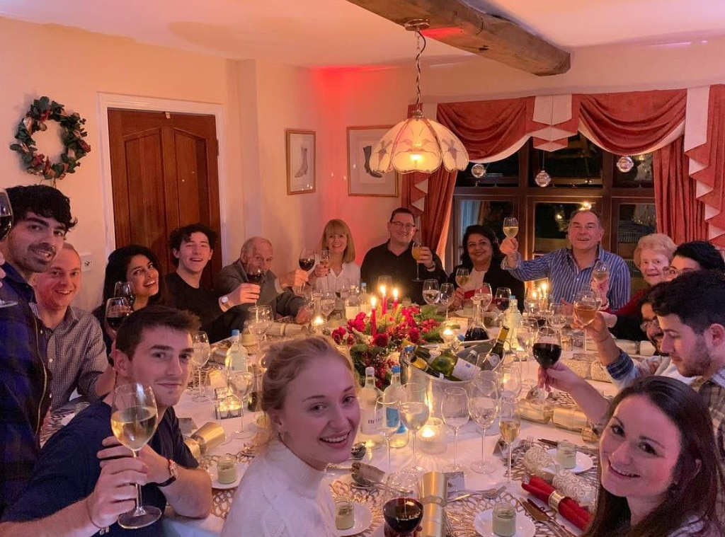 Priyanka Chopra celebrates Christmas with husband Nick Jonas` family, shares endearing picture