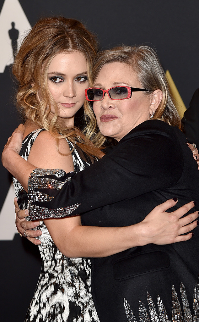 Carrie Fisher, Billie Lourd, 2015 Governors Awards