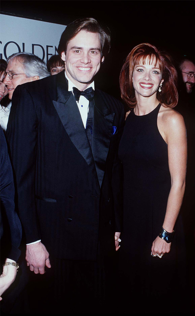 Jim Carrey, Lauren Holly, Golden Globes