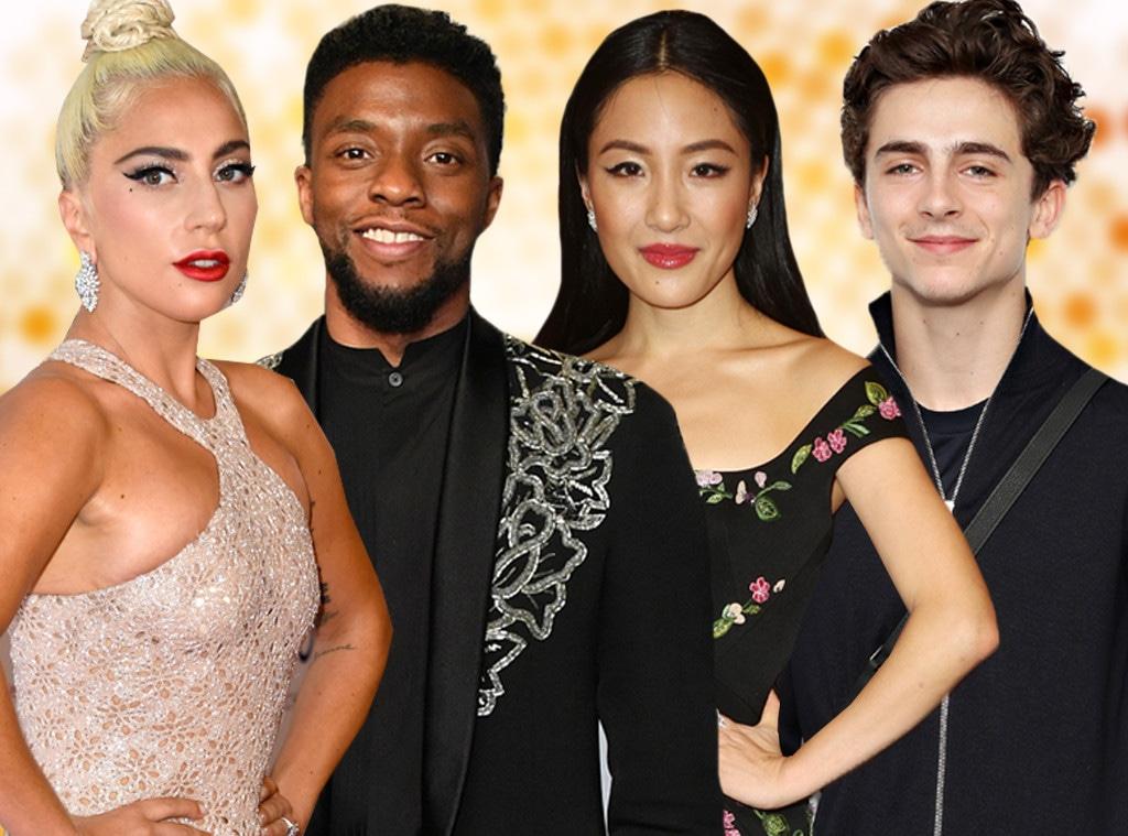 Lady Gaga, Chadwick Boseman, Constance Wu, Timothee Chalamet