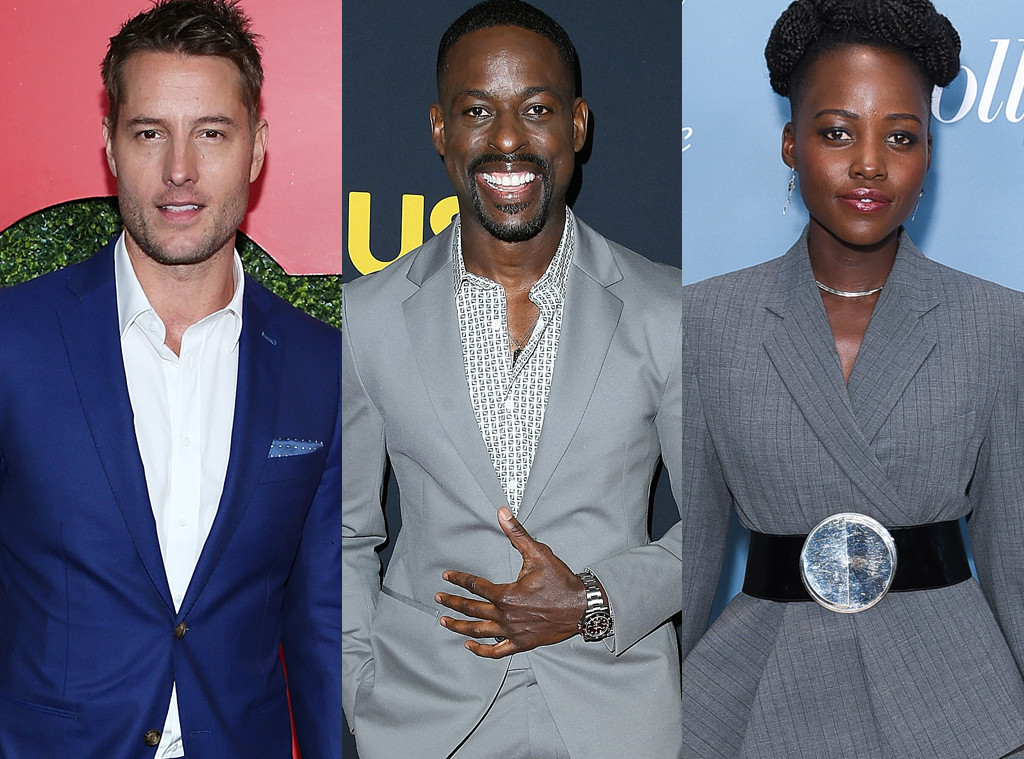 Justin Hartley, Sterling K Brown, Lupita Nyong'o