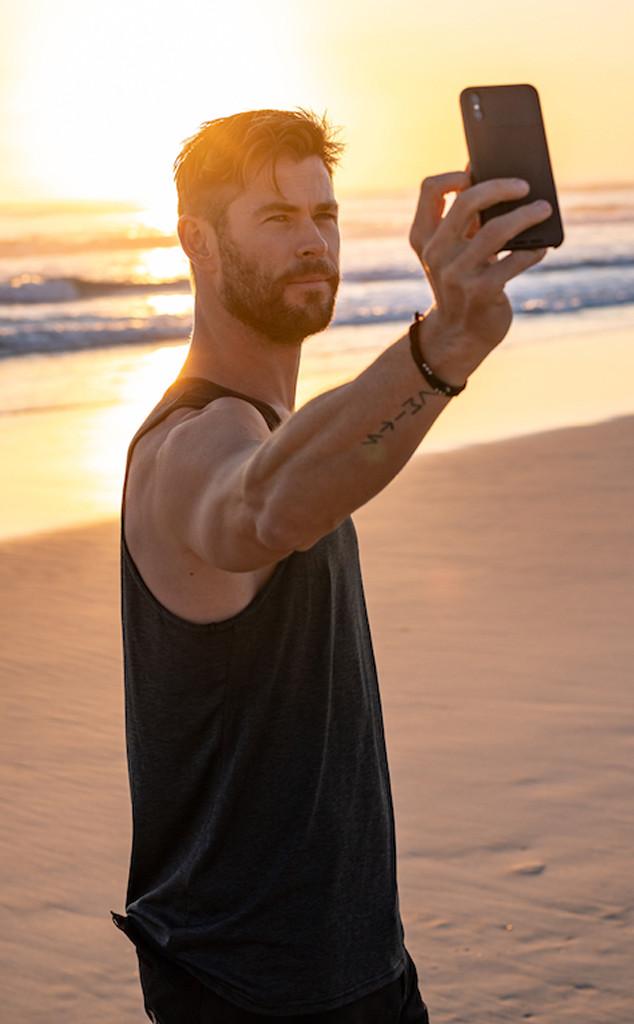Chris Hemsworth, Byron Bay